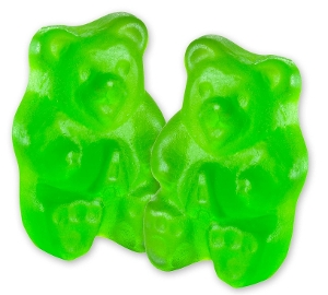 Albanese Granny Smith Green Apple Gummi Bears gummy candy