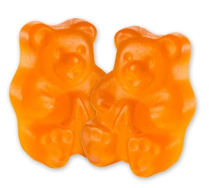Albanese Ornery Orange Gummi Bears gummy candy