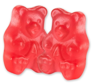 Albanese Fresh Strawberry Gummi Bears gummy candy