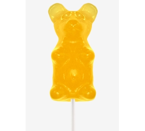 Giant Gummy Bear - Lemon