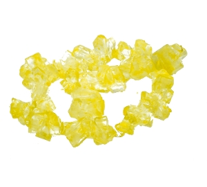 Rock Candy Lemon Strings old fashion retro candy in yellow