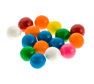 Bubble King Assorted Bubble Gum 3650ct  bubble, king, assorted, gum, fruit, fruity, red, orange, yellow, blue, candy