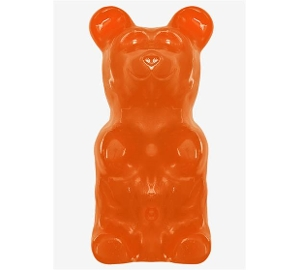 World's Largest Gummy Bear - Orange