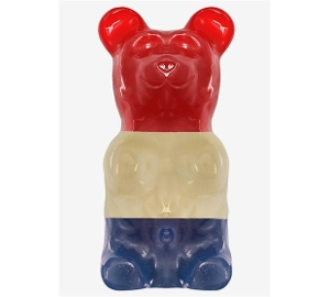 World's Largest Gummy Bear - Patriotic